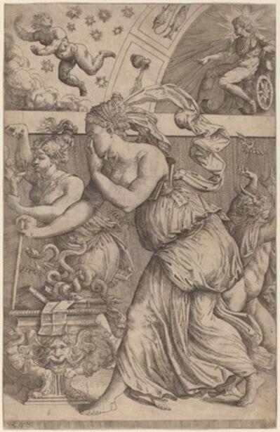 Master Z.B.M., 'Pandora Opening Her Box', 1557