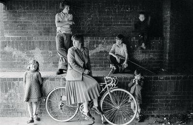 Chris Steele Perkins, 'Group of kids in Divis flats, West Belfast', 1978