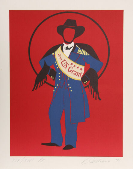 Robert Indiana, 'General Ulysses S. Grant from Mother of Us All', 1977
