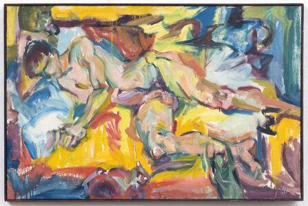 Carolee Schneemann, 'Personae: JT and Three Kitch's', 1957