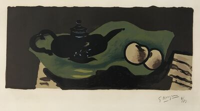 Georges Braque, 'Theiere et Pommes (Teapot and Apples)', 1946