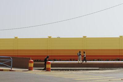 Mame-Diarra Niang, 'Le peuple du mur #6', 2014