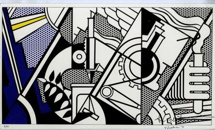 Roy Lichtenstein, 'Signed and Numbered Silkscreen on Card', 1970