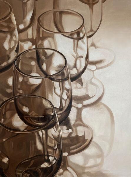 Inkyeong Baek, 'Wine Glasses III', 2021