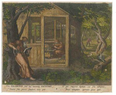 Raphael Sadeler the Elder, 'Palamonis et Pachomii ', ca. 1660