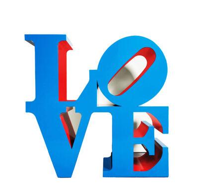 Robert Indiana, ''LOVE' (blue)', 2020
