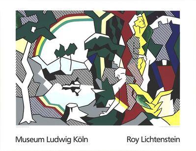 Roy Lichtenstein, 'Landscape With Figures and Rainbow Lg', 1989