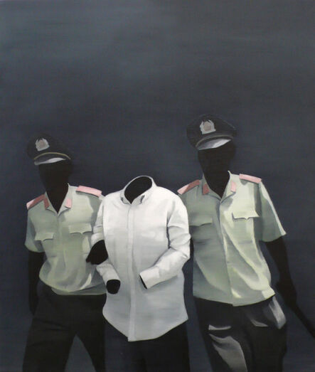 Nguyen Thai Tuan, 'Black Painting No. 30', 2008
