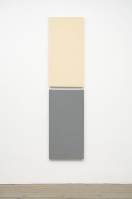 Alan Charlton, 'Painted/Unpainted', 2019