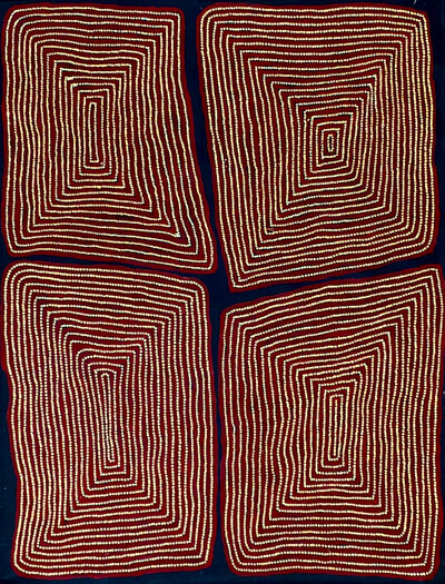 Thomas Tjapaltjarri, 'Tingari', 2020