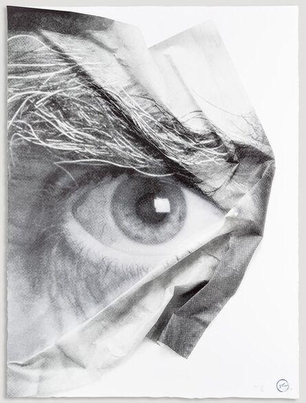 JR, 'The Wrinkles of the City, Los Angeles, Œil froissé 3', 2015