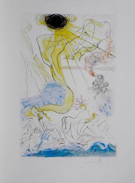 Salvador Dalí, 'Hommage a Albrecht Durer Triomphe de Venus', 1971