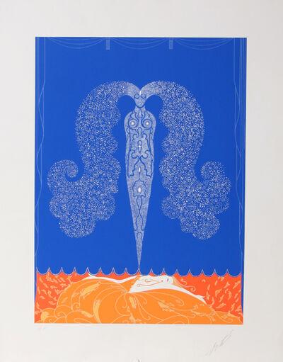 Erté (Romain de Tirtoff), 'Le Rideau de L'Hiver', ca. 1982