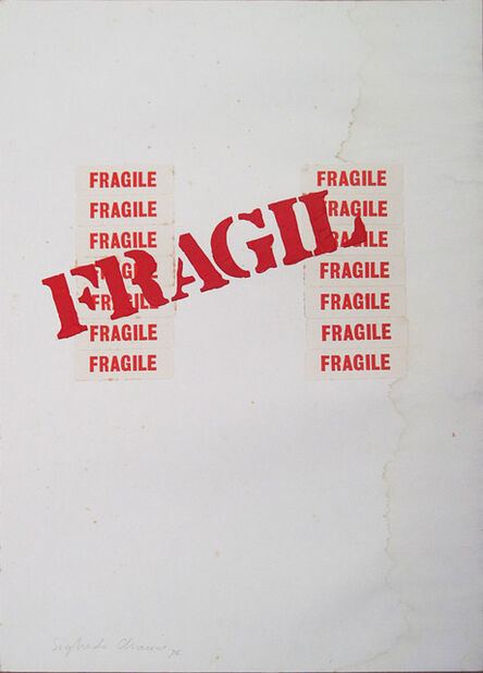 Sigfredo Chacón, 'Fragil', 1974