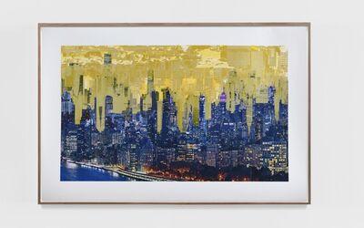 Sabine Hornig, 'City in Gold II', 2020