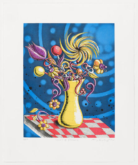 Kenny Scharf, 'Towers of Flowers', 2001