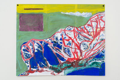 Jocko Weyland, 'Squaw Valley (Yellow Sky)', 2013