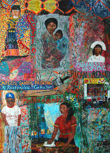 Pacita Abad, 'I thought the streets were paved with gold', 1991