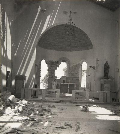 Cecil Beaton, 'The Church at Tobruk, Libya', 1942