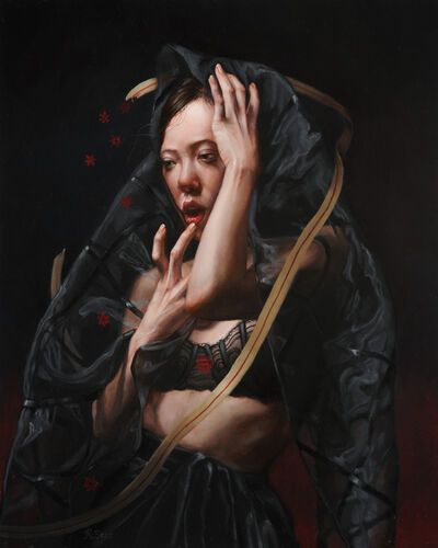 Rachel Bess, 'Bloodflakes Spilling from a Torn Lifeline'