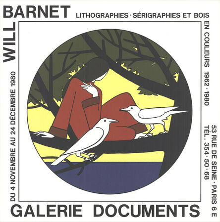 Will Barnet, 'Women, the Sea and Solitude', 1980