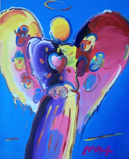 Peter Max, 'Angel With Heart', 2018