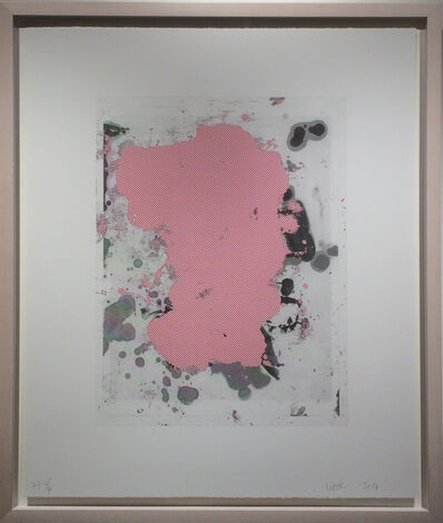 Christopher Wool, 'Portraits #6 (red)', 2014