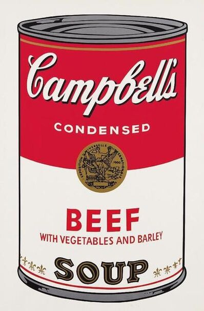 Andy Warhol, 'Beef Soup Campbells Soup', 1968