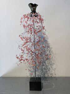 Estella Fransbergen, 'High Fired Torso with Strawberry Quartz and Swarovski Crystals', 2020