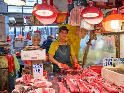 Ruben Terlou, 'Fish Market #1', 2017