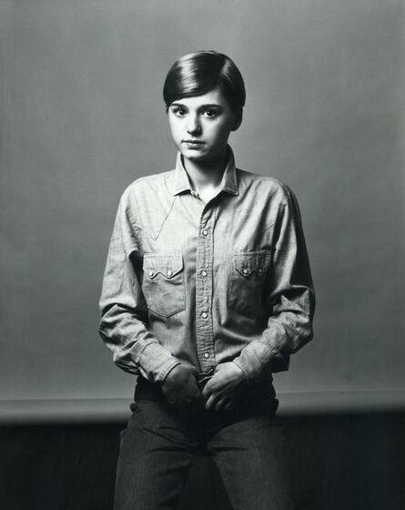 Arthur Elgort, 'Bonnie Lysohir 2', 1970