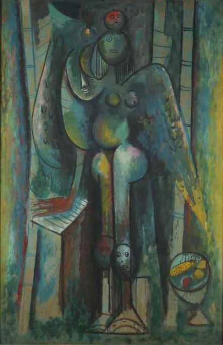 Wifredo Lam, 'La mañana verde', 1943