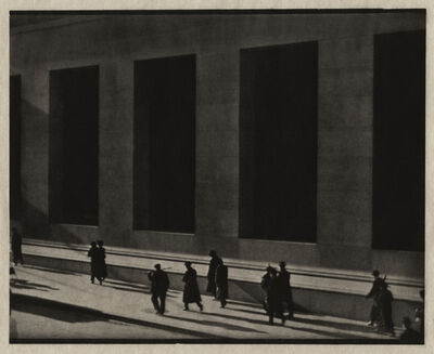 Paul Strand, 'New York (Wall Street)'