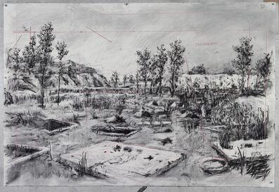 William Kentridge, 'Drawing for City Deep (Zama Zama Pits)', 2019