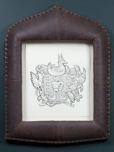 Marina Zurkow, 'Heraldic Crests for Invasive Species: Ruddy Duck', 2011
