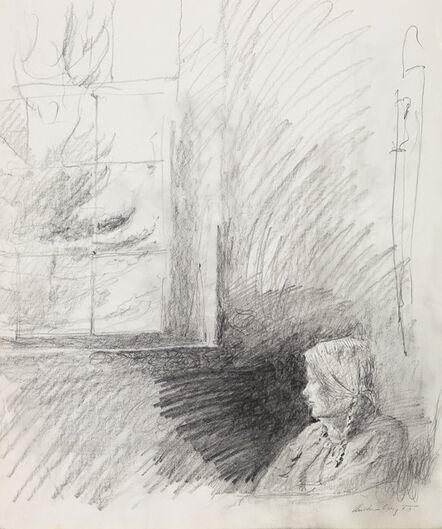 Andrew Wyeth, 'Housebound Study', 1986