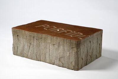 "Piero Gilardi, '""Massolo"" sofa/bench in foamed polyurethane. Designed by Piero Gilardi, produced by Gufram, Italy, 1974. Excellent original condition.', 1974"