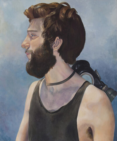 """Angela Od, '""""The Man of the Sword: he wanted to feel relieved""""', 2014"""