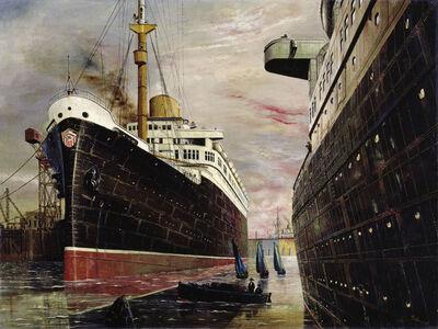 Franz Radziwill, 'The Harbor II (Der Hafen II)', 1930