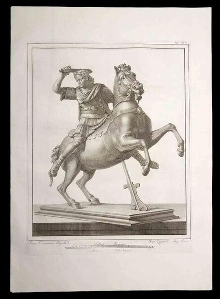Francesco Cepparoli, 'Legionnaire with the horse', 18th Century