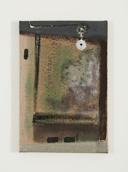 "Merlin James, '""Lamp"" ', 2001"