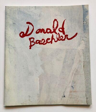 Donald Baechler, 'Tony Shafrazi exhibition catalogue', 1985
