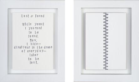 Anthony Mastromatteo, 'Lost & Found', 2015