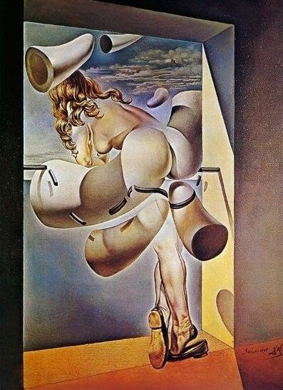 Salvador Dalí, 'Young Virgin.Young Virgin Auto-sodomized by Her Own Chastity', 1954