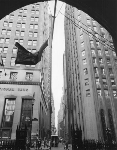 Berenice Abbott, 'National Bank at Broadway', Circa 1938-printed before 1960
