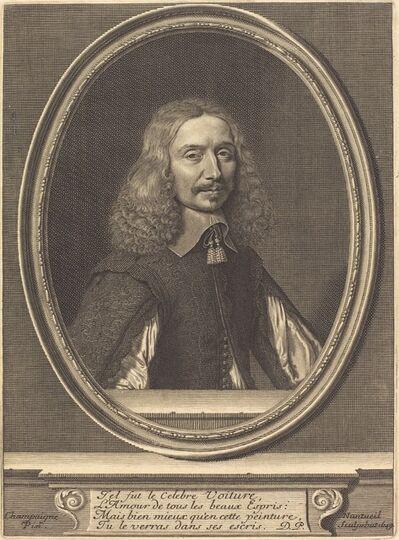Robert Nanteuil after Philippe de Champaigne, 'Vincent Voiture', 1649