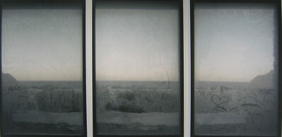 Anna Malagrida, 'S/T (tríptico azul I)', 2006
