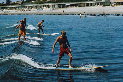 Slim Aarons, 'Surfing Brothers', 1965