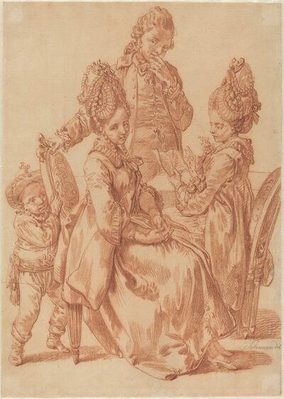 Johann Eleazar Schenau, 'The Letter'