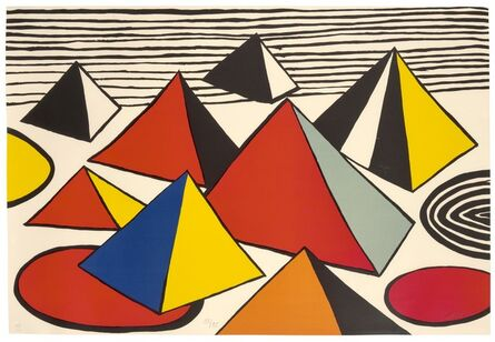 Alexander Calder, 'Pyramids II', c.1975